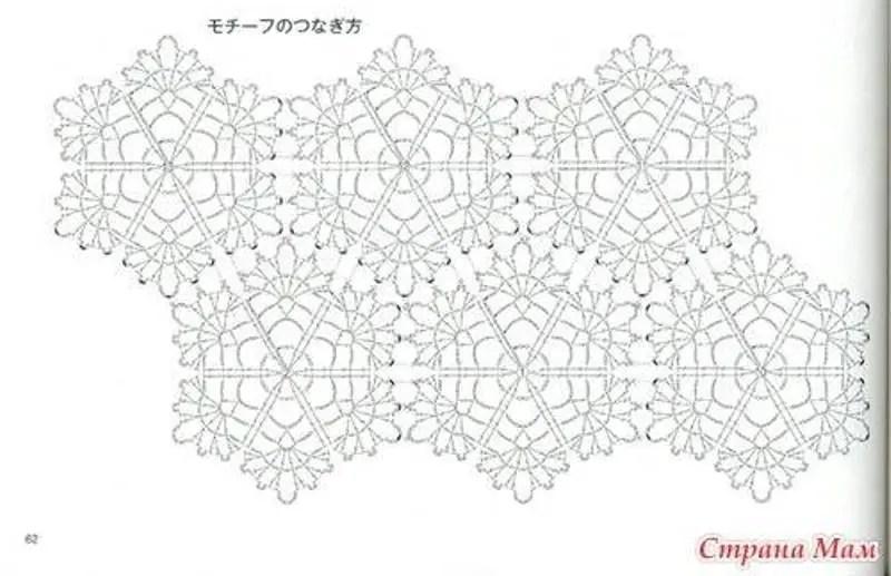 Crochet des granny bi-colores