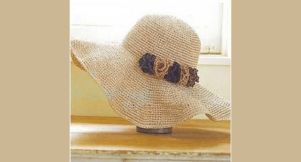 Un chapeau pour l'été