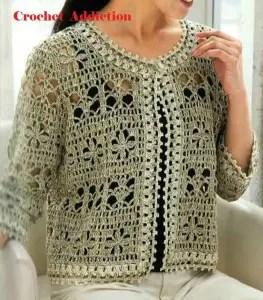 Gilet Au Crochet La Grenouille Tricote