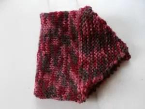 Chausson hyper facile au tricot