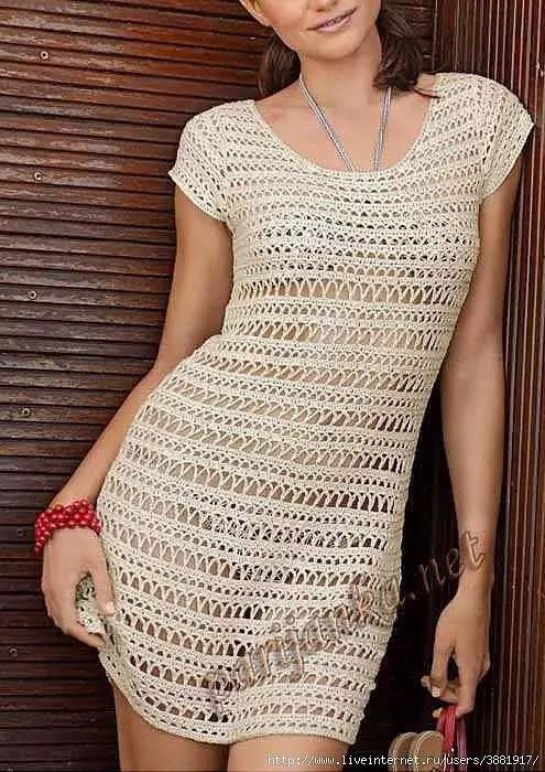 c52454e912e4 Une robe parfaite pour la plage - La Grenouille Tricote