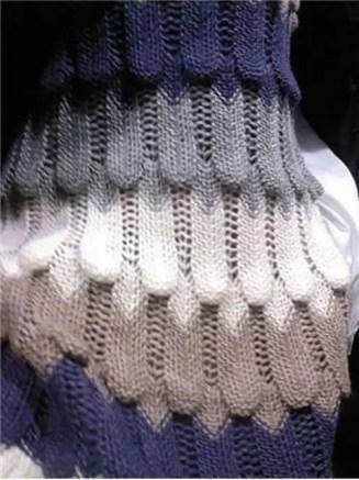 tuto d'un très beau point au tricot