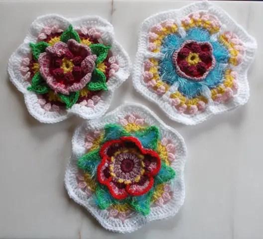 Cal frida's Flowers partie 6