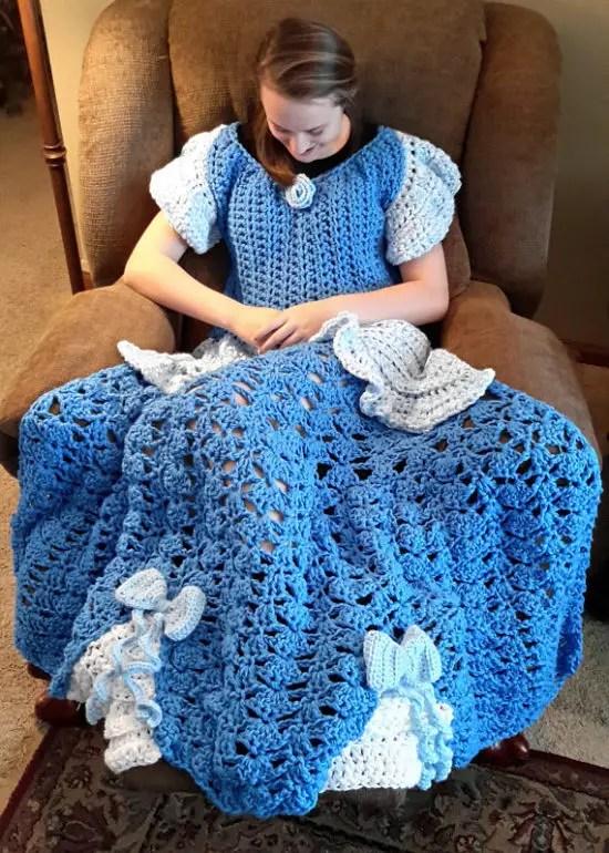 couverture bébé princesse LA couverture de Princesse   La Grenouille Tricote couverture bébé princesse