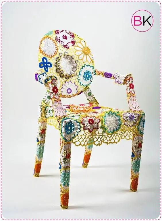 Avec nos grannys quelques idées pour nos chaises et fauteuils