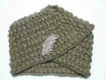 Souvenir des années 50 un turban au crochet