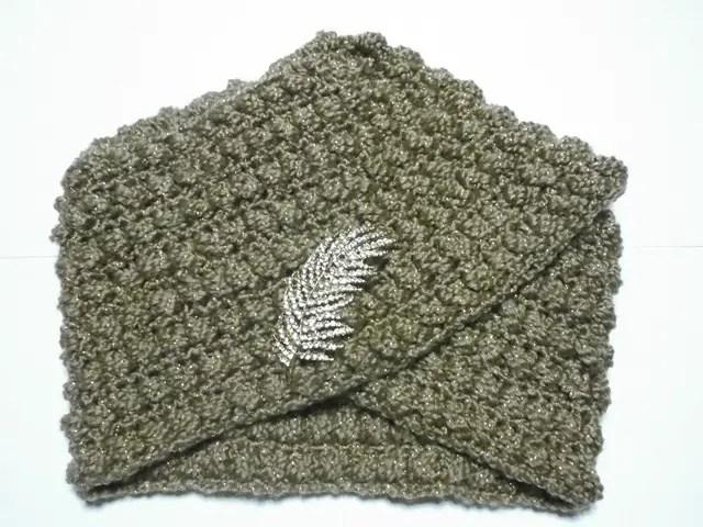 Souvenir Des Années 50 Un Turban Au Crochet La Grenouille
