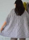au tricot un boléro XXL très confortable