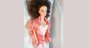 le boléro XXL de barbie Lili au tricot