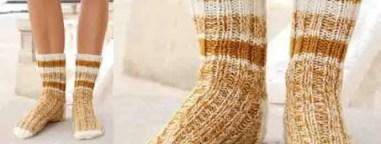 Des chaussettes pour les pieds de nos garçons