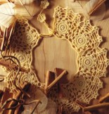 un col de dentelle au crochet