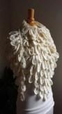 le châle plume de mélissa et melina crochet