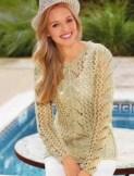 un pull super léger à tricoter