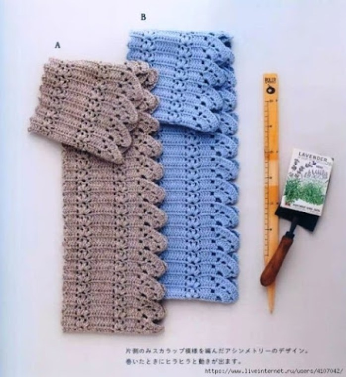 Un snood au crochet tout simple
