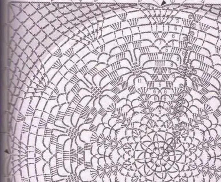 Débardeur Fleur de Lotus au crochet