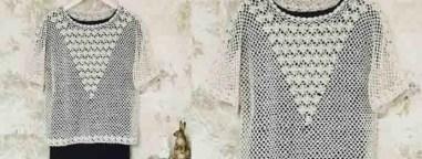 Le Lucky Sweater au crochet