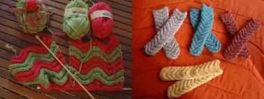 Des chaussettes femme au tricot