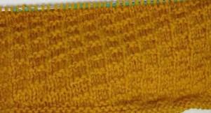 Un joli point tricot fantaisie facile