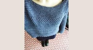 Point mousse tricot facile et rapide
