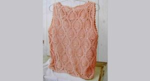 Summer crop top crochet