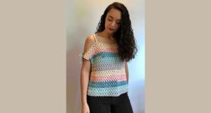 top crop crochet pattern