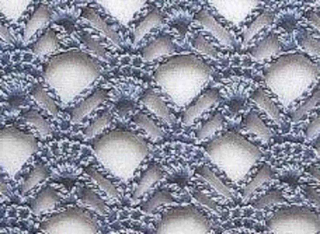 Modèle dentelle crochet gratuit