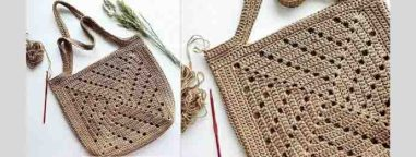 Modèle gratuit de sac au crochet