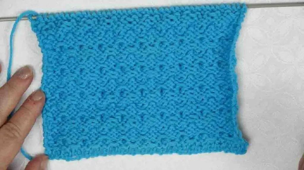 Point tricot facile et rapide