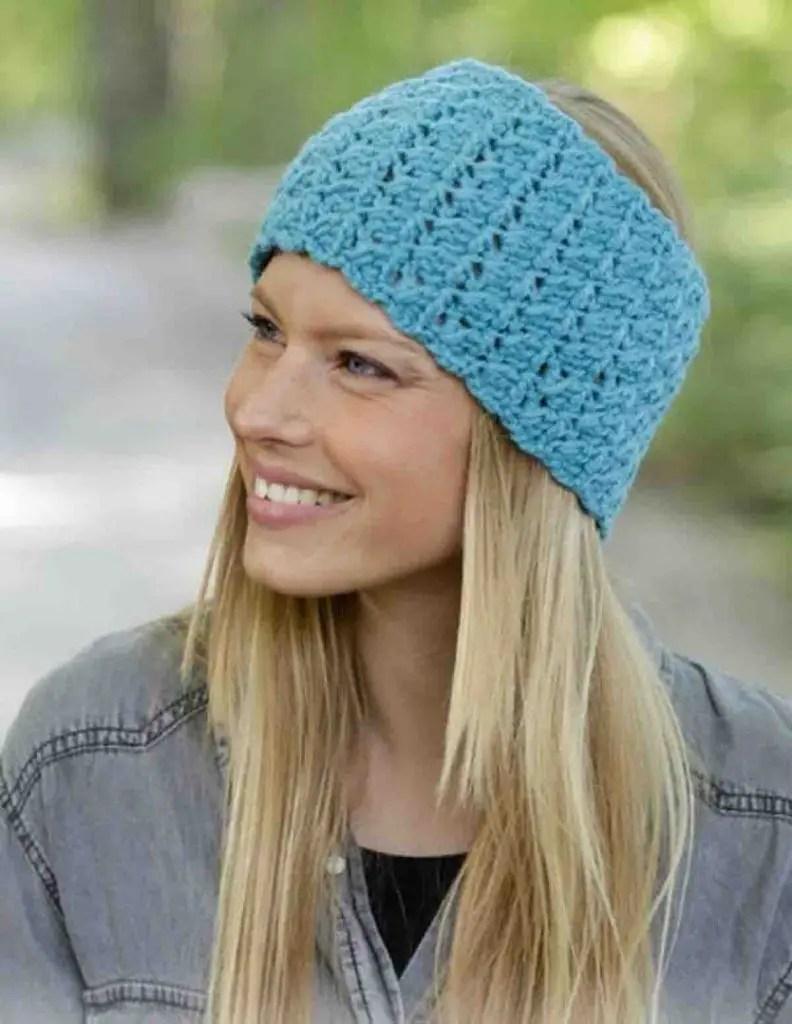 Un headband femme pour l'hiver