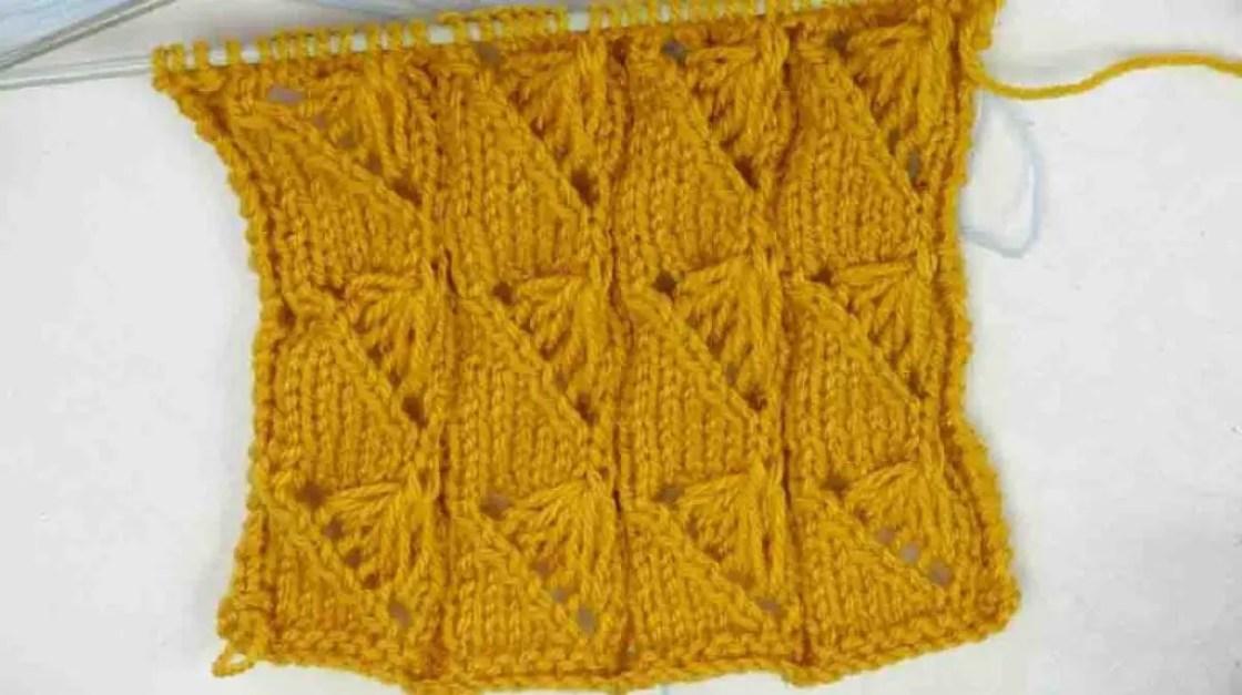 Un point tricot facile et original