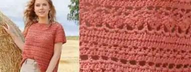 Un pull pour la rentrée au crochet