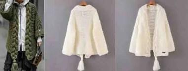 Gilet fashion week au tricot