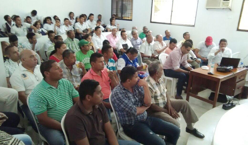 Alcalde de La Jagua del Pilar entregó cuentas en los 100 días de ... - Ronny Rojas