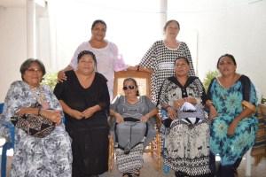 Algunas de las artesanas que conforman la Federación: Iris Aguilar, Cecilia Acosta, Eudocia González, María Cristina Gómez, Fanny Iguaran, María Teresa Fernández  y Aura Robles.