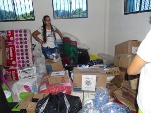 En 60 millones de pesos está evaluada la donación que las gestoras sociales de Cundinamarca llevaron a Distración.