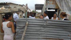 En esta humilde vivienda vivía el menor Luis Alfredo Ortíz Angulo con su familia.