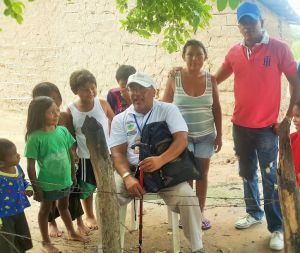 La comunidad de Villa Fátima estuvo atenta a las recomendaciones por parte de la secretaría de Salud.