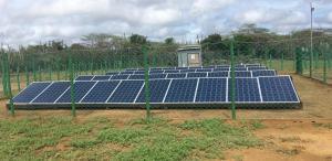 Paneles solares hacen parte de las soluciones integrales en agua, seguridad alimentaria y proyectos productivos a la población Wayúu, en el municipio de Uribia.