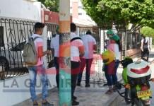 Asalto masivo que se presentó en días pasados en el barrio Guapuna, a un grupo jóvenes quienes hacían trabajos de afiliación de una empresa privada.