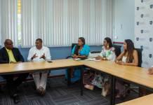 En varias reuniones participó de Nereida Henríquez Gómez, alcaldesa (e) de Uribia con dignatarios de Curazao.