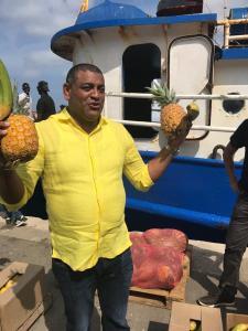 Feliz se encontraba en la mañana de ayer miércoles el gobernador (e) de La Guajira, Wilson Rojas Vanegas.