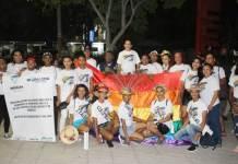 La comunidad Lgbti de Riohacha marcho por sus derechos contra la homofobia, transfobia y lesbofobia.