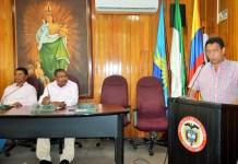 Álvaro Gnecco, secretario privado fue el encargado de clausurar el periodo de sesiones.