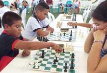 Aspecto del campeonato de ajedrez que se realizó en Riohacha.