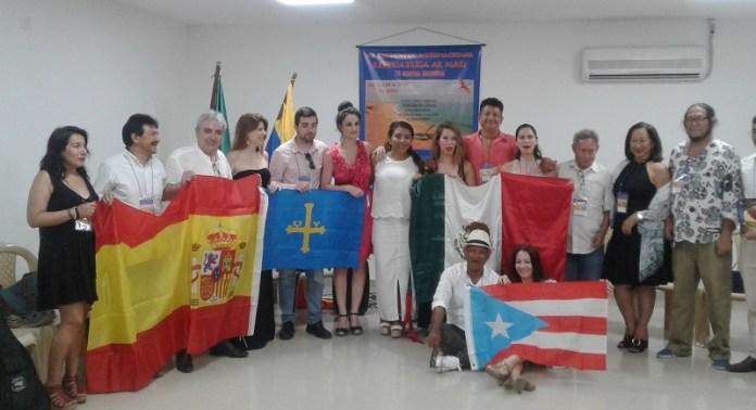 Con distintas delegaciones de varios países de América comenzó VII versión Literatura al Mar.
