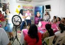 En este taller Luzco bien me siento Motivada, participaron muchas señoras del municipio de Maicao.