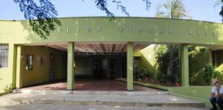 La Institución Educativa Helion Pinedo Ríos, en donde según la madre de familia, las irregularidades pululan.