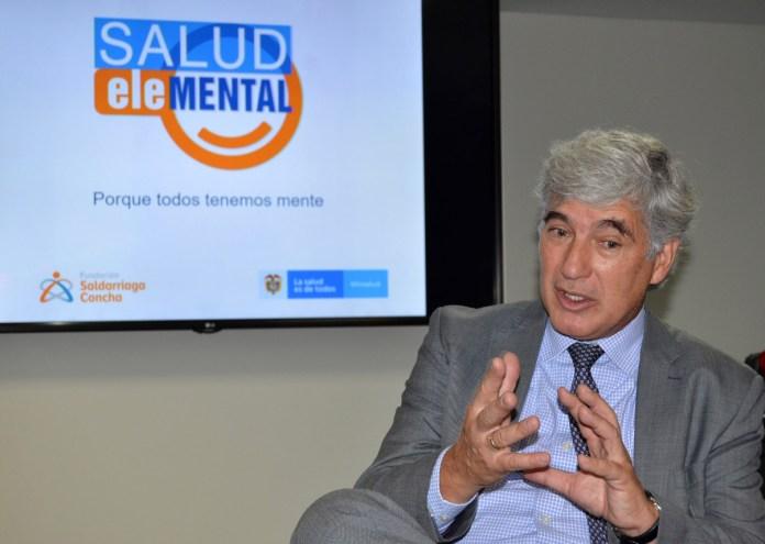 La salud mental, considerada como la segunda enfermedad que afecta a los colombianos, aseguró Juan Pablo Uribe Restrepo, ministro de Salud.