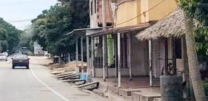Los establecimientos comerciales de los corregimientos de Mingueo y Palomino, en el municipio de Dibulla, en su mayoría obedecieron al paro armado, decretado por 72 horas por muerte de un alto jefe de los Pachencas.