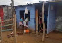 Sigue en aumento el número de viviendas afectadas por lluvias en Riohacha.